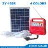 Solar-Gleichstrom Light System mit 4 Colors Zy-102r