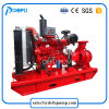 Sistema de combate a incêndio UL motor final diesel da bomba de incêndio de Sucção 750gpm
