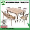 Jogo da tabela de jantar da mobília da HOME da madeira contínua