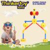 Brinquedo plástico da instrução de DIY para cultivar a faculdade criadora do miúdo