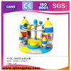 Sales (QL-A102-4)のためのスペースロケットRotating Chair Electric Soft Play