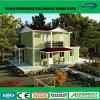 Casa modular del envase del edificio del chalet prefabricado prefabricado de varios pisos de la casa