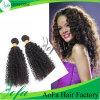 Estensione brasiliana riccia crespa non trattata dei capelli umani dei capelli del Virgin di 100%