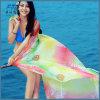 女性の絹のスカーフの印刷のHijabの女性のスカーフのビーチタオル