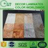 Suelo levantado/tarjeta laminada de la alta presión/color de mármol HPL