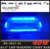 파란 LED 비상사태 경고 Lightbar
