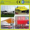 Освещение работы выставки алюминиевый болт с полукруглой крыши