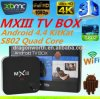 Mx3 2GB 8GB Quad Core Smart 텔레비젼 Box