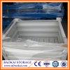 Jaula de acero amontonable de la plataforma de caja de almacenaje del almacén del metal