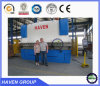 WC67Y-300X3200 수압기 브레이크 강철 플레이트 구부리는 기계