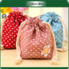 ODM Fashion Colorful Drawstring Promotion Canvas Cosmetic Bag