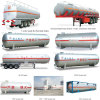 Fabrik Direct Sale 20ft 40ft Tanker Container LPG Propane Container Chemical Storage Tank Container
