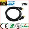 золото 1080P высокоскоростное HDMI 1.5m к кабелю HDMI (SY084)