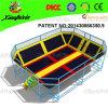 Cabritos Indoor Playground com Indoor Trampoline Bed