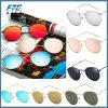 Vintage retro Eyewear ao ar livre redondo dos vidros dos óculos de sol do frame do metal