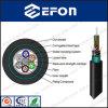 2 12 cabo frouxo dobro da fibra óptica de uma comunicação do tubo da costa de fio de aço da bainha de 96 núcleos (GYTY53)