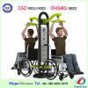 바디 신체 장애자는 옥외 적당 장비를 건축하는 의자를 민다