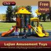 CE Rocket Plastique Style enfants plastique en plein air Aire de jeux (X1281-3)