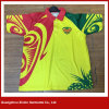La sublimación de calidad superior Correr Deportes Polo camiseta (P144)