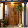 La décoration rustique de portes avant, avant l'entrée des portes, rustique en bois Portes avant