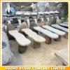 정원 Decoration를 위한 돌 Benches 그리고 Tables