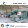 Manuel de l'horizontale pour les canettes en aluminium à partir de la ramasseuse-presse Hellobaler HM-4