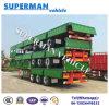 Rimorchio all'ingrosso 40FT del camion del palo del muro laterale della Cina