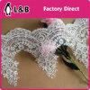 Merletto nuziale di Alençon di modo del merletto decorativo grazioso popolare di cerimonia nuziale