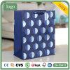 Polka PUNKT blaue Kleidung bereift Spielzeug-Geschenk-Papierbeutel