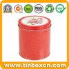 食糧パッキング円形の金属の茶ボックス茶錫の容器