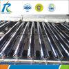 Solar de grande diâmetro evacuado tubos de vidro para os aquecedores de água solares