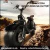 小型チョッパーのバイクの自転車の電気スクーターのバランスをとる2取り外し可能な電池60V