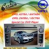 Reproductor de DVD especial del coche para Opel Astra/Antara/Zafira/Vectra
