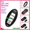 Verre Sleutel voor 2005-2008 Nissan Tiida Livina met 3 de Sleutel van de Noodsituatie van Knopen 315MHz zonder de Spaander