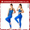 女性の用品類(ELTFLI-34)のための驚異の高品質の青いヨガWearleggings