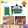 Машина 1325 маршрутизатора деревянной гравировки CNC Китая для круглой древесины