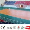 Suelo de múltiples funciones verde de interior del vinilo de la alta calidad para el voleibol 6.5m m