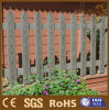 Panneaux composés en plastique en bois de frontière de sécurité de clôture de borne pour la ferme
