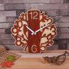 La Chambre simple d'horloge d'horloge en bois fournit l'horloge en bois créatrice de temps