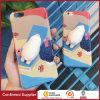 Caja disponible del teléfono del OEM del nuevo silicón animal lindo elástico 3D