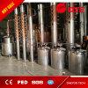 El equipo destilador de cobre de destilación de la columna de la máquina para el vodka y ginebra