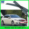 Respiradouro da porta da viseira da chuva do carro dos artigos da decoração do carro para o Benz C260 2011+