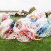 Juegos de fútbol de la burbuja, bola de parachoques de la burbuja humana, carrocería Zorb