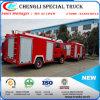Camion dei vigili del fuoco di sollevamento della pompa ad acqua di salvataggio della scaletta 3000L