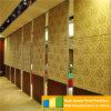 Los paneles plegables, puerta de Slidng, pared operable acústica de ninguna pista del piso