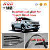 Accessories extérieur Door Guard pour Toyota 2015 Hilux Revo Plastic Sun Visor/Window Vent Visor Rain Guard