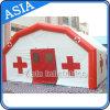 空気Tightedの膨脹可能な緊急治療室の医学のテントの赤十字のテント