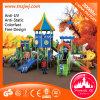 Castelo Bright Kindergarten Slide Outdoor Playground para Sale