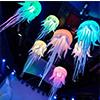 Bola inflable decorativa del LED de la iluminación de la etapa inflable gigante de las medusas