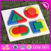 2015 giocattolo geometrico di legno brandnew, giocattolo geometrico di legno educativo, giocattolo geometrico di legno prescolare W13e061